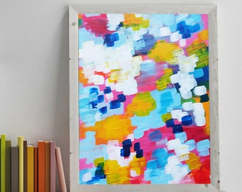 Confettis - abstract - originale - abstract paint