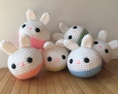 Roly-Poly Moon Bun - Amigurumi Bunny Rabbit Doll