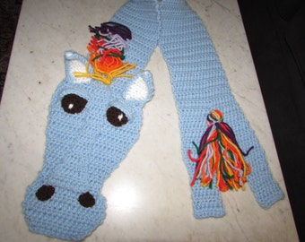 Horse Lover Scarf Choice of Three Different Versions