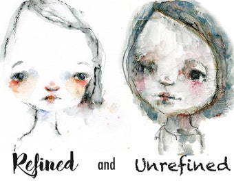 The Refined and Unrefined Face online class - by Mindy Lacefield