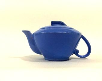 Vernon Kilns Cobalt Blue Teapot ~ Vernon Kilns California ~ Blue Teapot ~ Cobalt Blue Teapot ~ Vernon Kilns Teapot