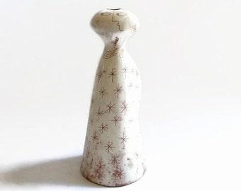 SUMMER SALE Modernist Figural Vase by Edmund Ronaky