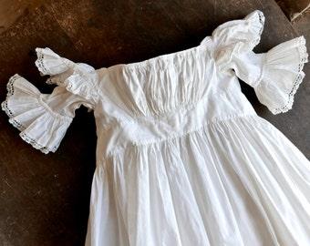 Civil War Era Christening Gown 0-3 Months