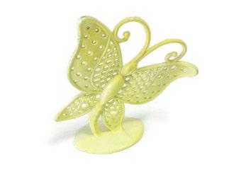 Vintage Butterfly Metal Earring Hanger