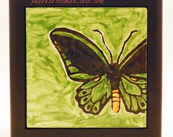 Butterfly Tile Box Ready To Ship for Mother's Day TB0001