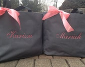 Personalized Bridal Party Totes, Tote bags Embroidered Bags Bride SALE Monogrammed Bridesmaid Gifts