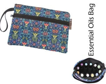 Essential Oil Bag - Essential Oil Pouch - Oil Bags - Waterproof lining fabric - Sweet Home Fabric