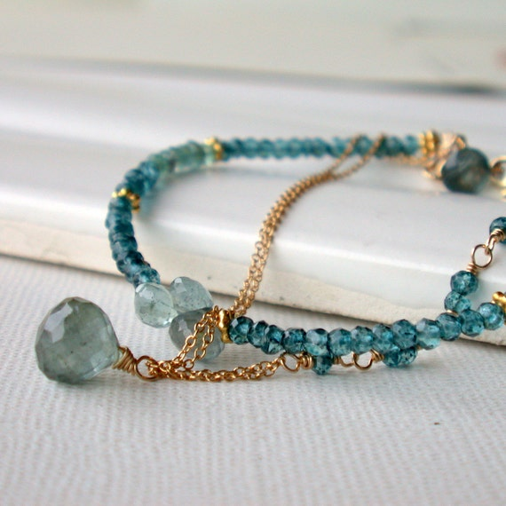 Seaside Gemstone Bracelet