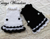 Chicken Sweater - Flouncy Crocheted Chicken Saddle - Crochet Pattern - KrissysWonders - Chicken Sweater Pattern