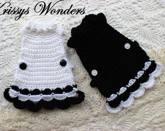 Crochet Pattern - Chicken Sweater - Flouncy Crocheted Chicken Saddle - Buy 2 get 1 Free Crochet Pattern