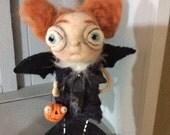 The BaT girl ooak art doll