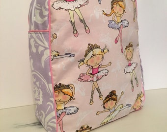 Handmade Ballerina/Dancer Backpack -Ready to Ship