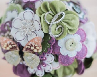 Custom Felt Flower Bouquet