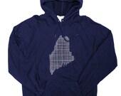 MAINE HOODIE - Pullover Hooded Sweatshirt