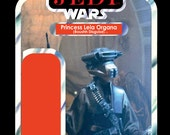 Return of the Jedi Custom Action Figure Card Backs