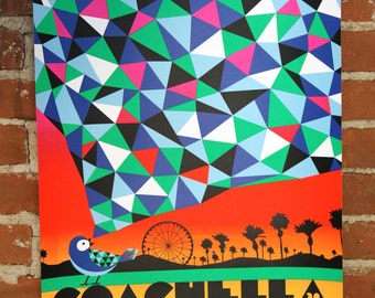 Coachella 2016 - Official Screenprinted Poster