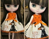 Middie Blythe Halloween Babydoll Dress by Tickled Pink by Julie