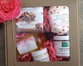 Valentines Day Gift | Bath and Body Gift | Gift for Her | Chocolates and Roses | Free Shipping in US