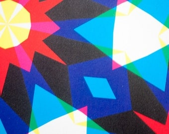 Wrapping Paper -- Kaleidoscopic Patterned Paper -- pattern 2