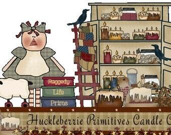 Huckleberrie Primitives Scent List