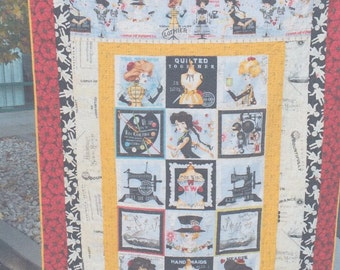 She Who Sews- Fabric-Chicks Style! Quilting Kit