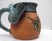Hummingbird - Wake and Bake Small  Mug....  MUG and a PIPE.... AWESOME !!!  .......