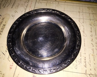 Vintage Silver Oneida Plate