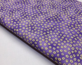 Michael Miller Giddy Dots Purple Yellow Quilt Textiles Quilting Sewing Fabric Quilters