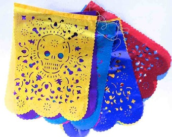 Day of the Dead Papel Picado Large Size Vertical  Banners #756