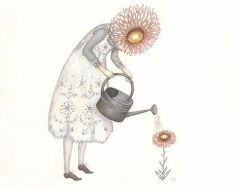Little Gardener - Print