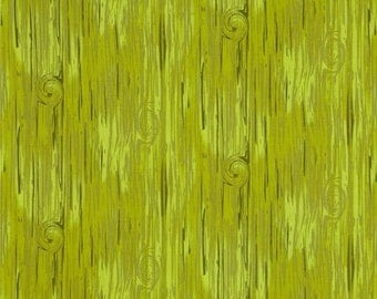 Green Wood - Frolicking Forest Cotton Fabric FQ Fat Quarter by Camelot Cottons