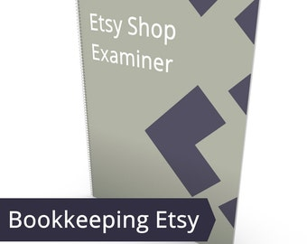 Etsy Shop Examiner - Shop Report Card, Etsy Shop Ratios, Etsy CPA, Small Business Bookkeeping, Successful on Etsy, Shop Critique Shop Stats