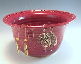 Earring, Tree and Jewelry Holder / Jewelry Organizer / Earring Tree