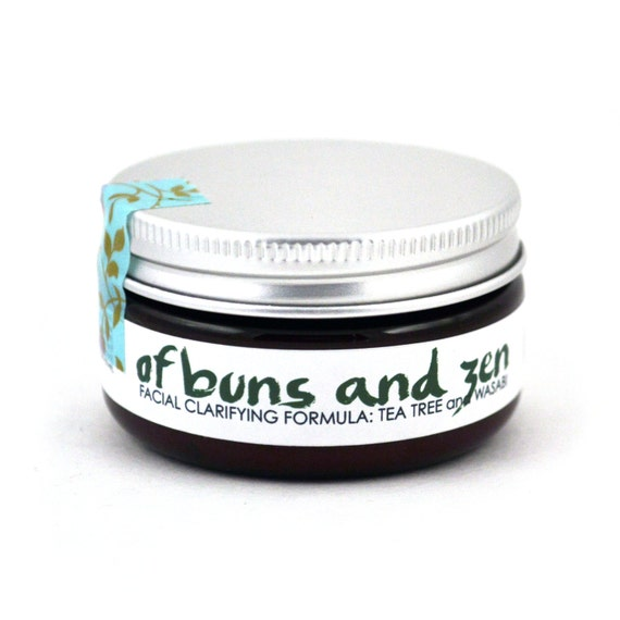 OF BUNS & ZEN Clarifying Facial Cream with Tea Tree Oil (Vegan - 2oz)
