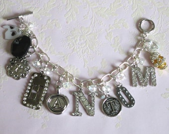 "Phantom of the Opera ""Phantom"" Charm Bracelet"