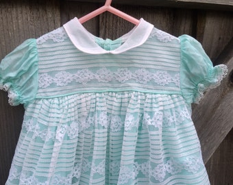 60s Baby Dress 9/12 Months