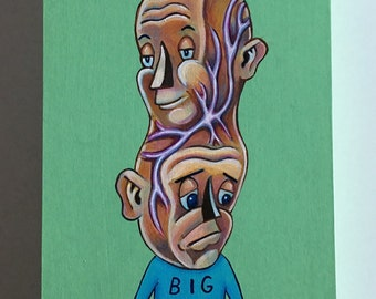 Big Deal - Original artwork by Kevin Kosmicki