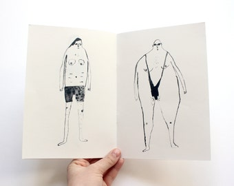 Art Zine - A Catalogue of Outrageous Swimwear ISSUE 2