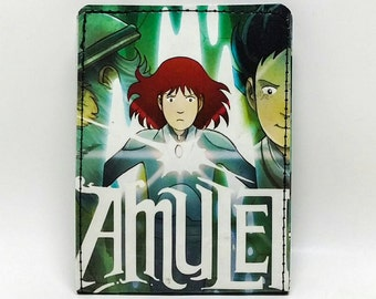 Sewn Comic Book Wallet - Manga - Amulet
