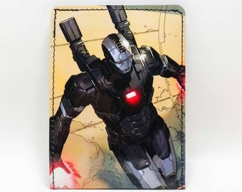 Sewn Comic Book Wallet - Avengers Civil War - Iron Man / War Machine