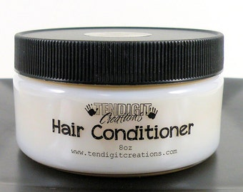 8oz Hair Conditioner (CHOOSE YOUR SCENT) - earthy, fruity, floral, bakery, citrus, hippie, berry, woodsy, fall, winter, spring, summer