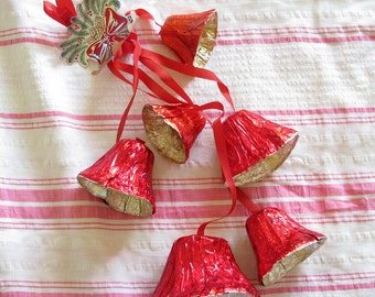 Ring Out Bells of Christmas...Fun Vintage Foil Christmas Decoration