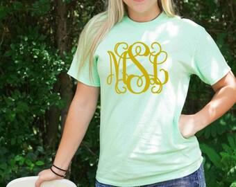 Monogrammed Custom T-shirt