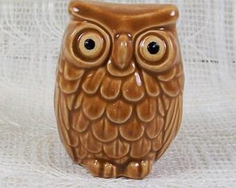 Ceramic Owl | Owl Statue | Handmade Owl Figurine | Ceramic Owl Decor | Animal Figurine | Bird Figurine | Cute Owl