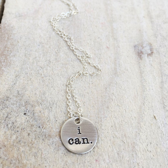 I Can Necklace-Inspirational-Cycling Jewelry
