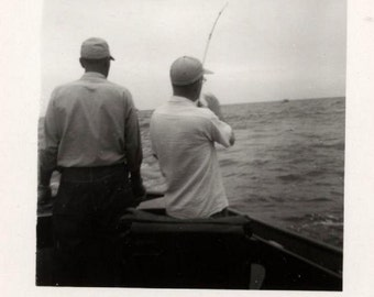 Original photo lot of 30 plus photos of The Fishing Trip ~ Guys go fishing