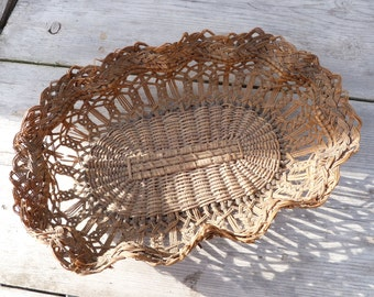 Special listing for Jenny  French bakery basket / Bread basket