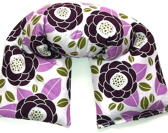 Microwave heat therapy - 3 SIZES - heating pad, cold therapy, spa neck wrap, flax seed, aromatherapy - RICE FLAXSEED mix