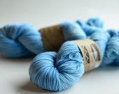 Simply Sock in Chagall superwash merino wool, nylon fingering weight sock yarn