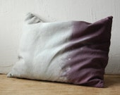 SALE mystic cushion with buckwheat hulls and dried lavender filling